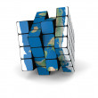 World cube — Stock Photo