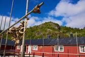 Fishing hut — Stock Photo