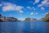 Scenic fjord in Norway — Stock Photo