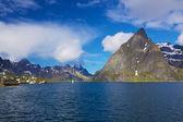 Scenic norwegian fjord — Stock Photo