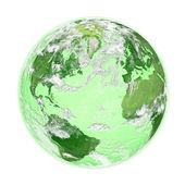 Green Earth — Stock Photo