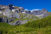Rochosas montanhas — Fotografia Stock