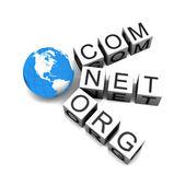 Web domains — Stock Photo