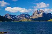 Noruega escénica en verano — Foto de Stock