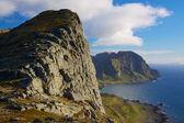 Coastal cliffs — Stock Photo