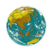 Southeast Asia on Earth — Stock Photo