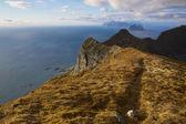 Hiking on Lofoten — Stock Photo