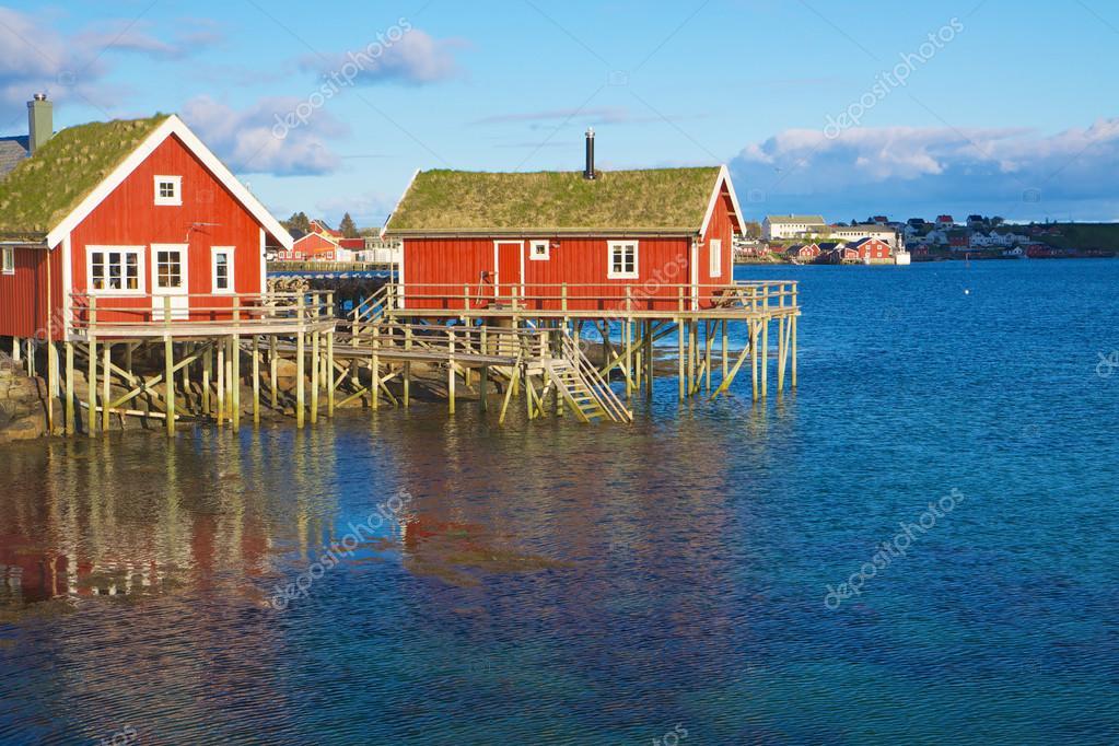 красные дома рыбалка