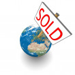 Sold Earth — Stock Photo