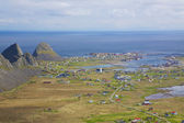 Norska staden — Stockfoto
