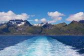 Sailing on Lofoten — Stock Photo
