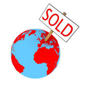 Sold planet — Stock Photo