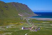 Vila norueguesa — Fotografia Stock