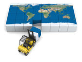 Transporte global — Foto de Stock
