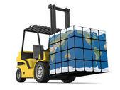 Worldwide delivery — Стоковое фото