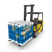 Global logistics — Stock Photo
