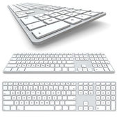 Computer keyboard — Foto de Stock