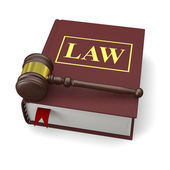 Law book — Stock Photo