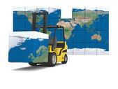 International logistics — Stockfoto