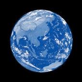 Südostasien auf blauer Planet Erde — Stockfoto