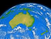 Avustralya dünya — Stok fotoğraf