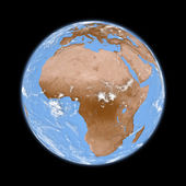 Africa on Earth — Stock Photo
