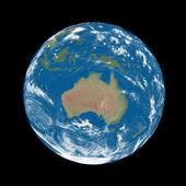 L'australie sur terre bleue — Photo