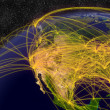 Stock Photo: Air travel in North America