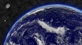 Pacific ocean on planet Earth — Stock Photo