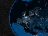 Night in Europe — Stock Photo