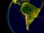 South America connections — Stock Photo