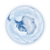 Antarctica on planet Earth — Stock Photo