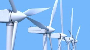 Wind farm — Stock Video