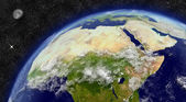 North Africa on planet Earth — Stock Photo