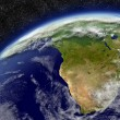 South Africa on planet Earth — Stock Photo