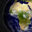 Africa on planet Earth — Stock Photo #41554179