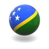 Solomon islands flag — Stock Photo