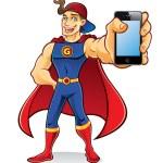 Постер, плакат: Superhero Gadget