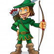 Robin Hood - Stock Vector