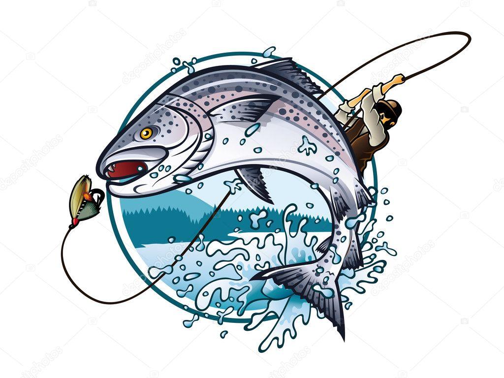 рыбалка лого картинки