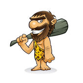 Caveman — Vector de stock