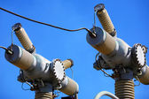 High-voltage electric equipment — Stock Photo
