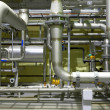 Stok fotoğraf: Pipeline of high pressure