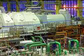 Power plant interior — Stock Photo