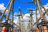 Electric substation — Stock Photo