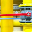Gas pipeline of a high pressure — Stock Photo
