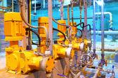 Betriebseinrichtung. elektrische pumpen — Stockfoto
