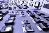 Industrial control panel — Stock Photo