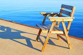 Descanse em férias no mar — Foto Stock