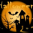 Royalty-Free Stock Vector Image: Halloween night.